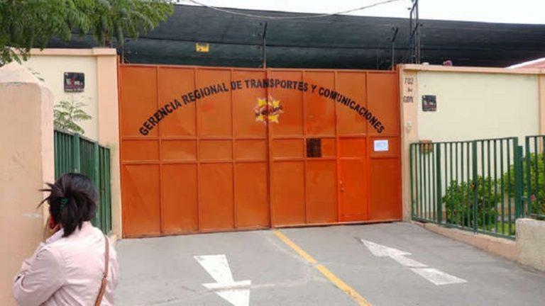 Arequipa: Suspenden por 15 días atención presencial en la Gerencia de Transportes