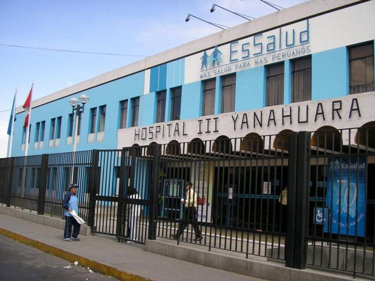 Colapso: Médicos del hospital Yanahuara piden intervención del gobierno central