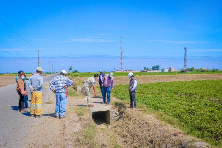 Inician obra del canal Huarango en Punta de Bombón