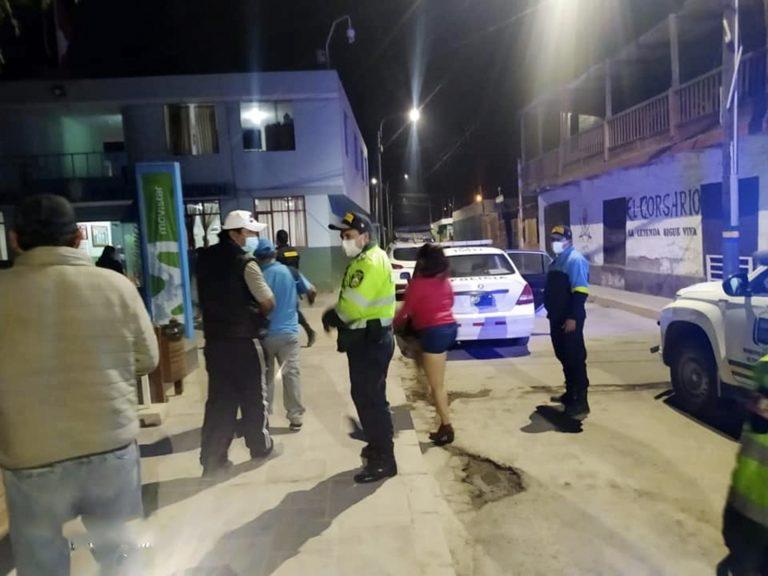 Intervienen locales nocturnos en Punta de Bombón