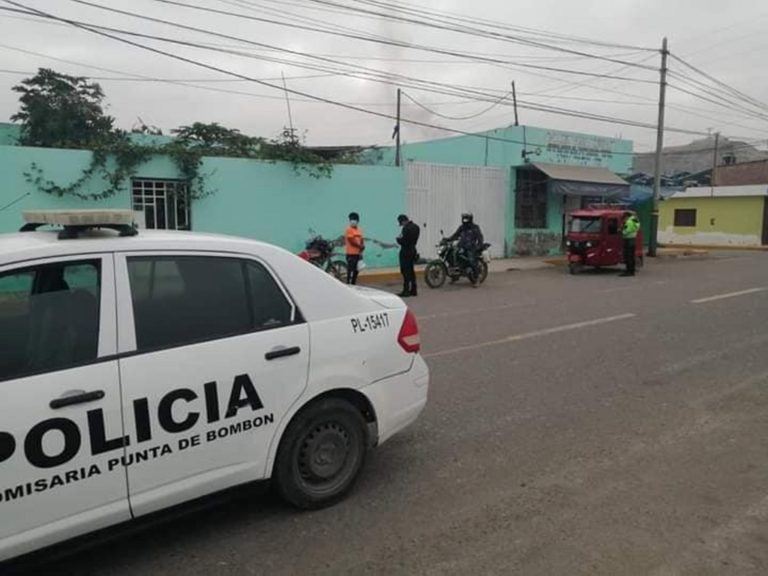 Impusieron lluvia de papeletas en Punta de Bombón