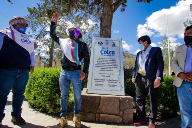 Valle del Colca recibe Jerarquía 4 como destino turístico