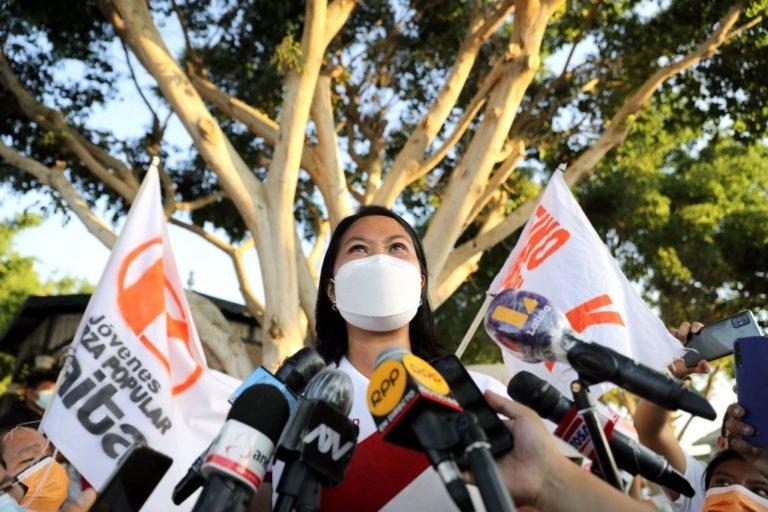 Keiko Fujimori a Pedro Castillo: «El día sábado a las 3:00 p.m. lo espero para un nuevo debate»