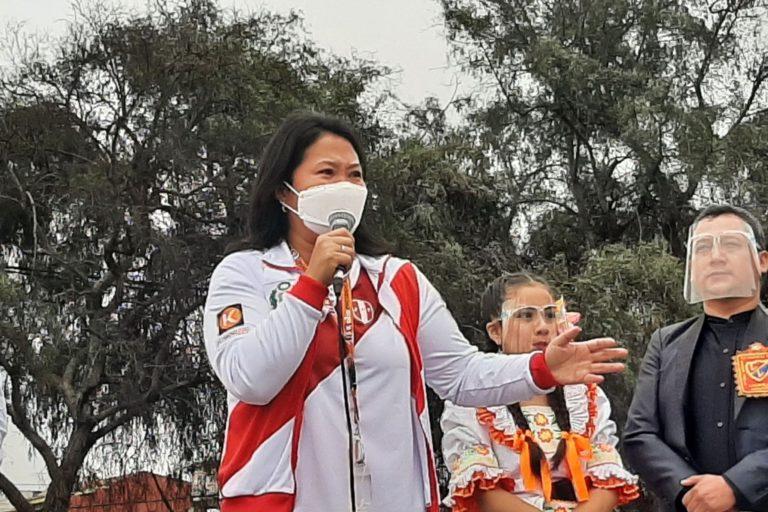 Keiko Fujimori rechazó «actos cobardes de violencia» contra sus simpatizantes