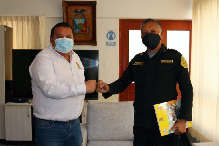 Promoverán un trabajo conjunto a fin de reforzar la seguridad en la ciudad de Moquegua