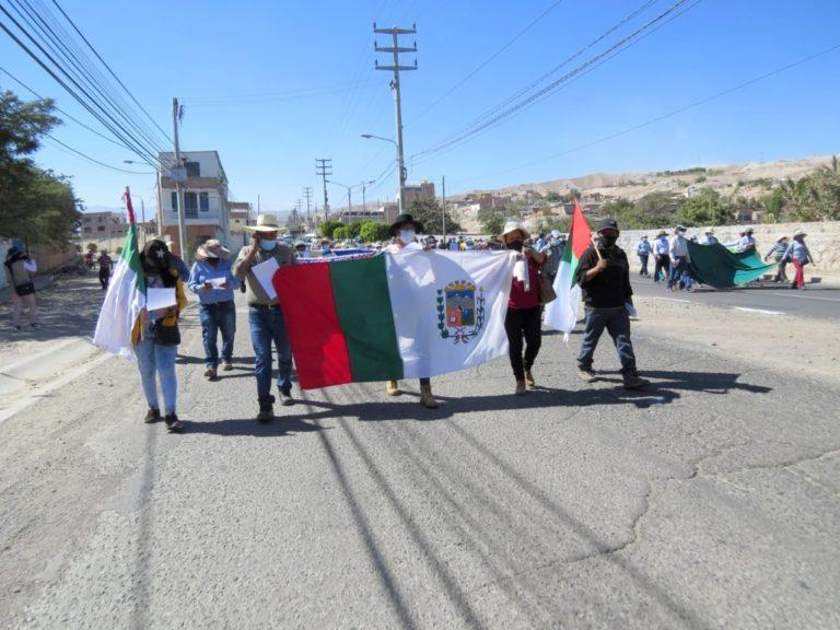 Autoridades de Moquegua y Arequipa emiten memorial exigiendo al Gobierno Central atiendan demandas