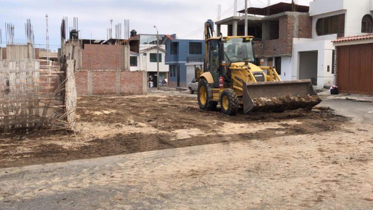 MPI rescata terreno abandonado para convertirlo en área verde