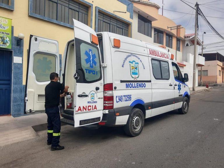 Autorizan firma de convenio para vacunar a patrulla Covid de Mollendo