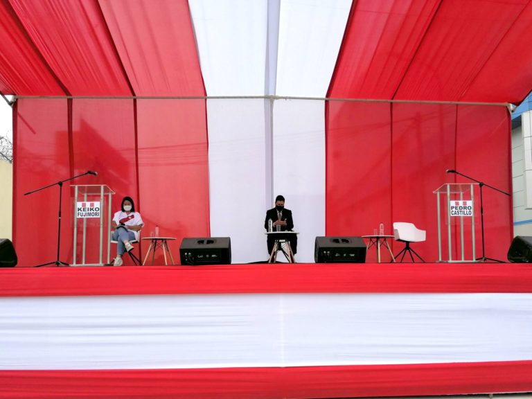 Pedro Castillo no acudió al debate que propuso a Keiko Fujimori en el penal de Chorrillos