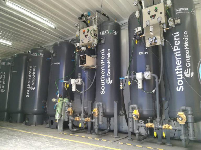 Piden trasladar planta de oxígeno de Mollendo a Arequipa
