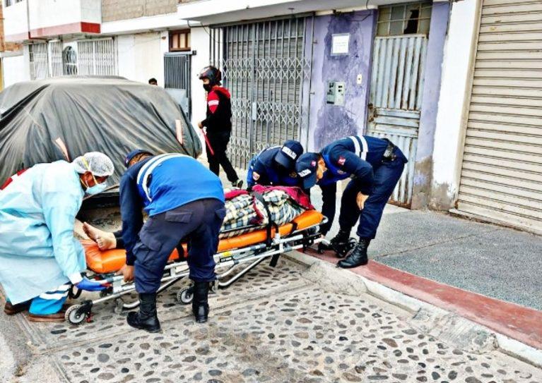 Serenazgo auxilia a mujer venezolana que intentó quitarse la vida