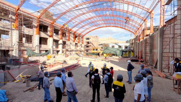 Realizan visitas guiadas a obras que ejecuta la Municipalidad de Mariscal Nieto