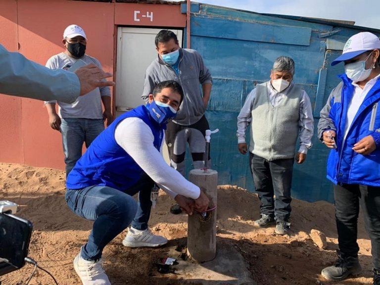 Asociación Rincón de Mollendo ya cuenta con agua potable