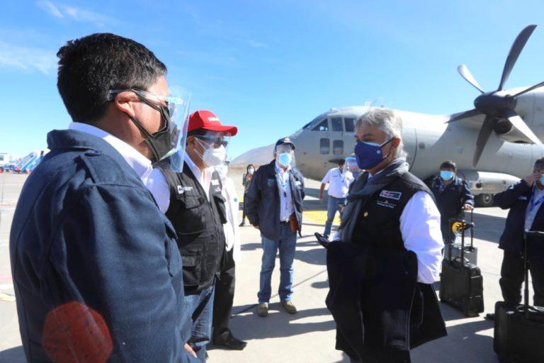 Arequipa: brigada de salud desarrolla acciones para lucha contra la pandemia