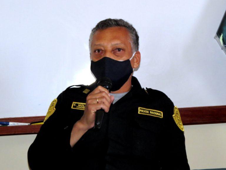 """Para jefe de la Región Policial, el índice delictivo en Moquegua """"es casi nulo"""""""