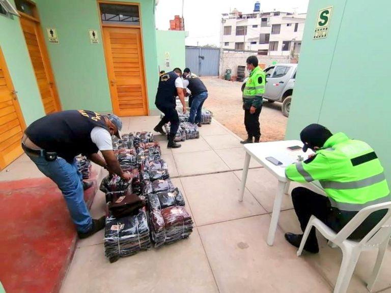 Detienen a 5 personas por contrabando en Matarani