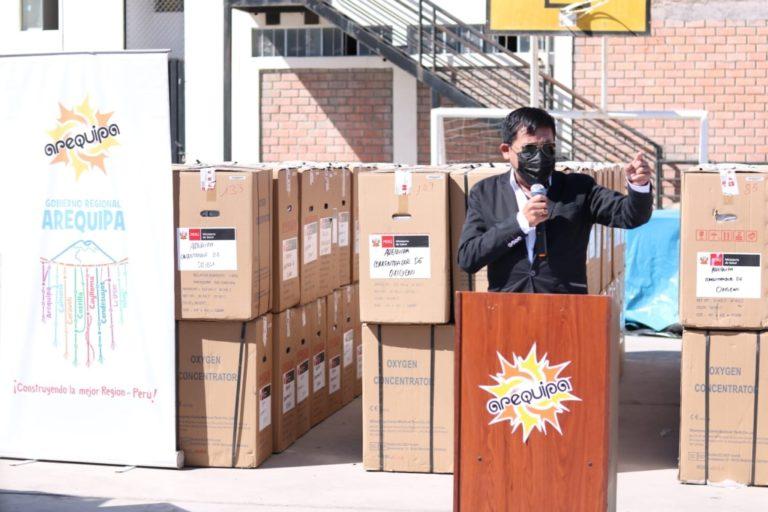 Gobernador regional de Arequipa pide que cerco epidemiológico sea sólo de 7 días