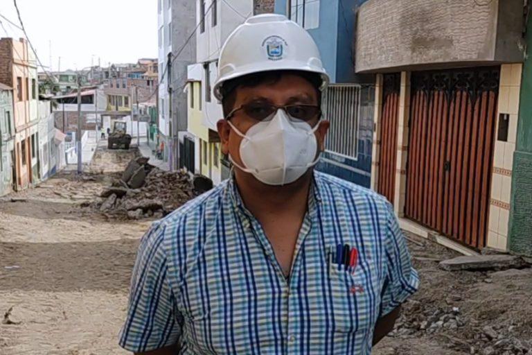 Municipio provincial inicia obras en calle Melgar e Islay