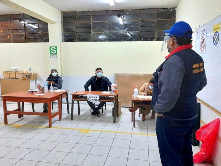 Fiscalía de Arequipa, supervisó el correcto desarrollo del proceso electoral