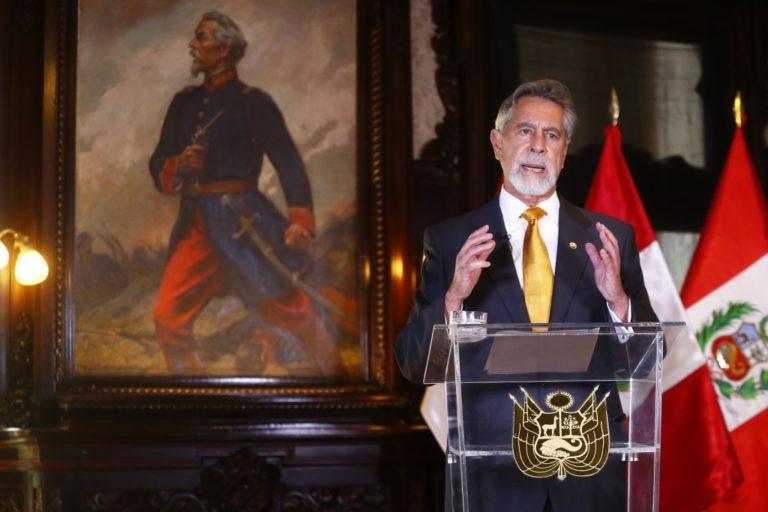 Presidente Sagasti pide a ciudadanía acudir a votar y respeto a resultados electorales