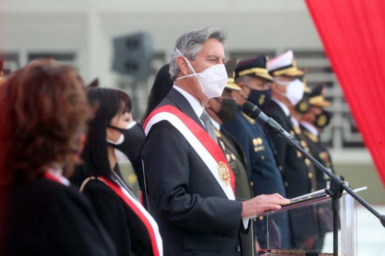 Presidente Sagasti: resultado de elecciones son claro llamado a la reconciliación y unidad