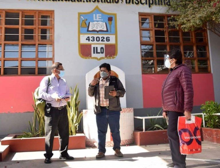 Ilo: GORE Moquegua remodelará la I.E 'Carlos Alberto Conde Vásquez'