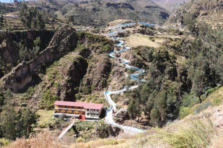 GORE Moquegua inaugura mirador turístico en Cuchumbaya