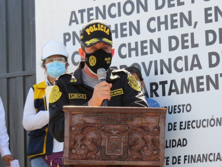Jefe de la XIV Macro Región Policial espera que municipio cumpla con adquisición de 10 patrulleros