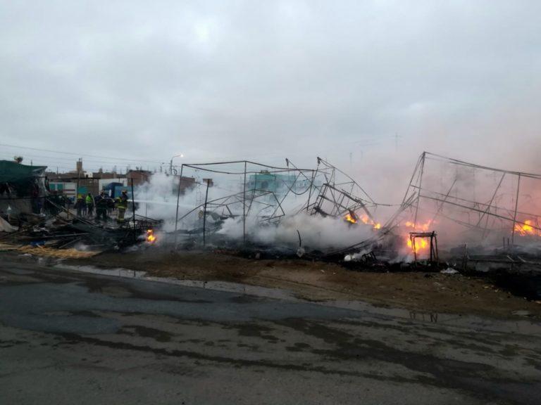 """Municipio de Ilo no permitirá que feria """"Lima Gamarra"""" vuelva al lugar donde ocurrió incendio"""