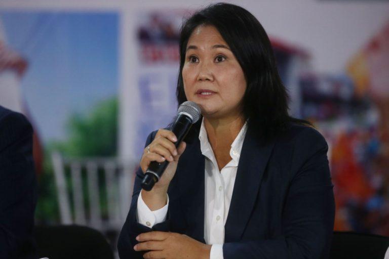 Keiko Fujimori presentará al JNE acciones de nulidad en 802 mesas a nivel nacional