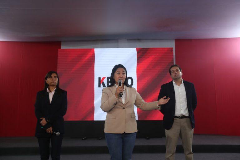 Keiko Fujimori afirma que pedido de prisión preventiva carece de sustento