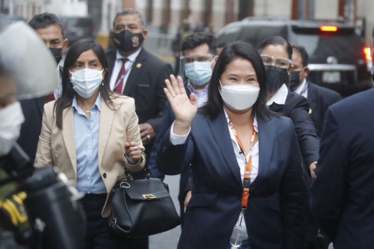 Poder Judicial declaró infundado pedido de prisión preventiva para Keiko Fujimori
