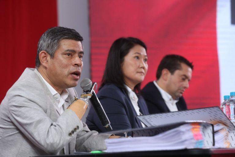 Fuerza Popular pedirá a la ONPE que entregue el padrón de electores