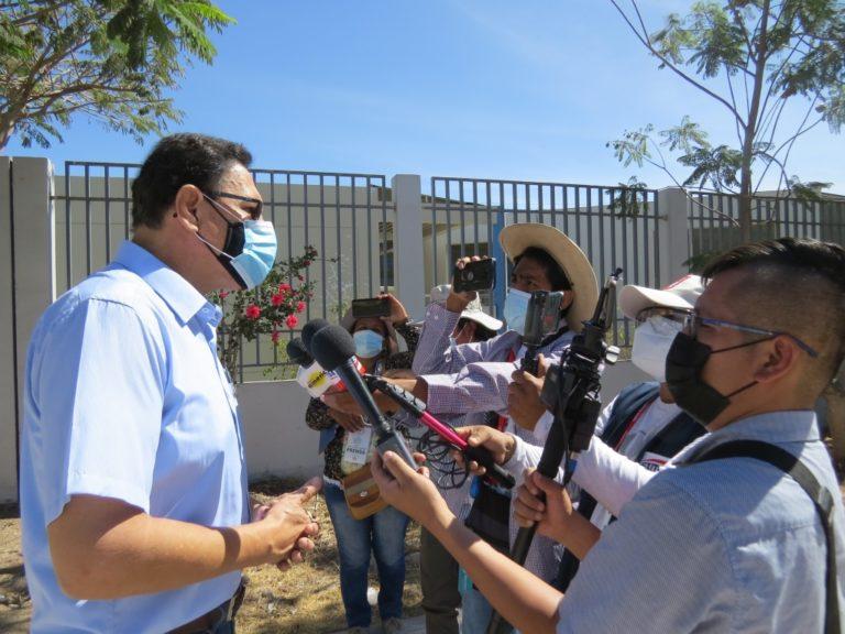 Martín Vizcarra votó en Moquegua y piensa que no habrá fraude en las elecciones presidenciales