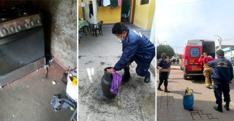 Mujer con quemaduras deja explosión y fuga de gas en Alto Inclán