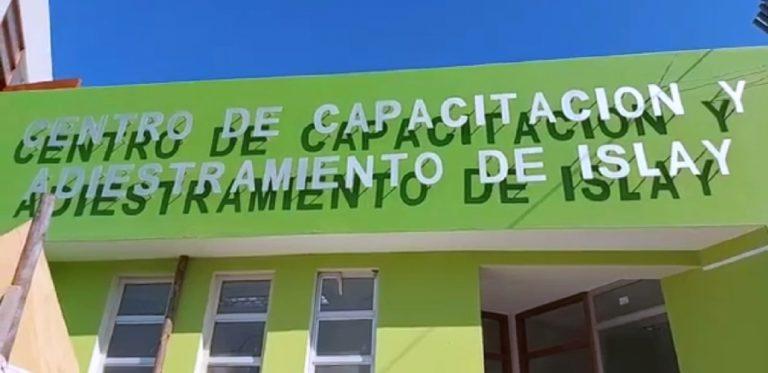 Municipalidad distrital de Islay presenta cuatro obras, próximas a ser culminadas