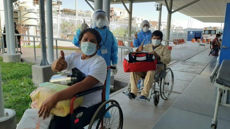 Hospital Regional de Moquegua reporta 212 altas médicas por Covid-19