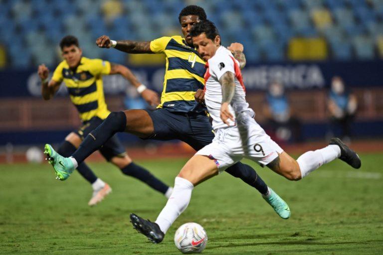 Copa América: Perú empató 2-2 con Ecuador con gol y asistencia de Lapadula