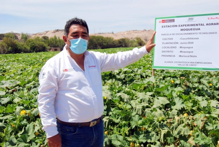 INIA muestra nueva tecnología a productores moqueguanos