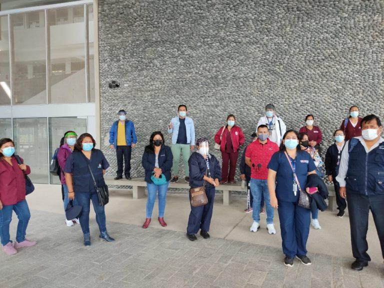 Moquegua: trabajadores de la Red de Salud Ilo piden destitución de Percy Huancapaza
