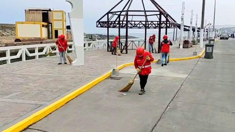 Mollendo: Verifican obras en el Malecón Ratti
