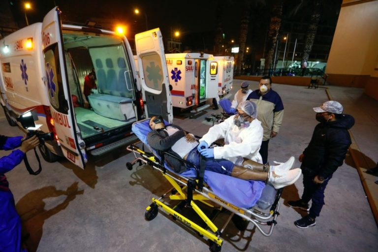 En mayo, ambulancias de provincias trasladaron más de 150 pacientes a Arequipa