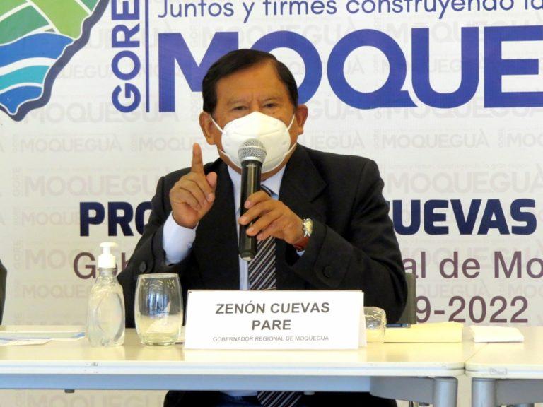 """Zenón Cuevas: """"No me voy a presentar ante congresistas golpistas"""""""