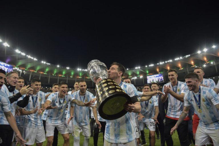 Argentina ganó 1-0 a Brasil y se corona campeón de la Copa América