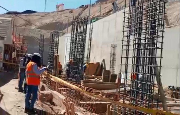 Moquegua: Construcción de I.E. 358 se encuentra en un 75% de avance