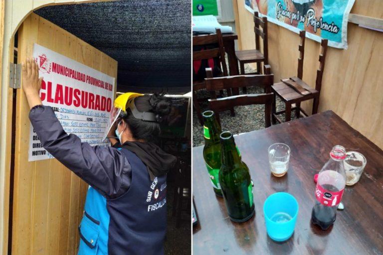 Ilo: Clausuran bar clandestino en el Promuvi XII en la Pampa Inalámbrica
