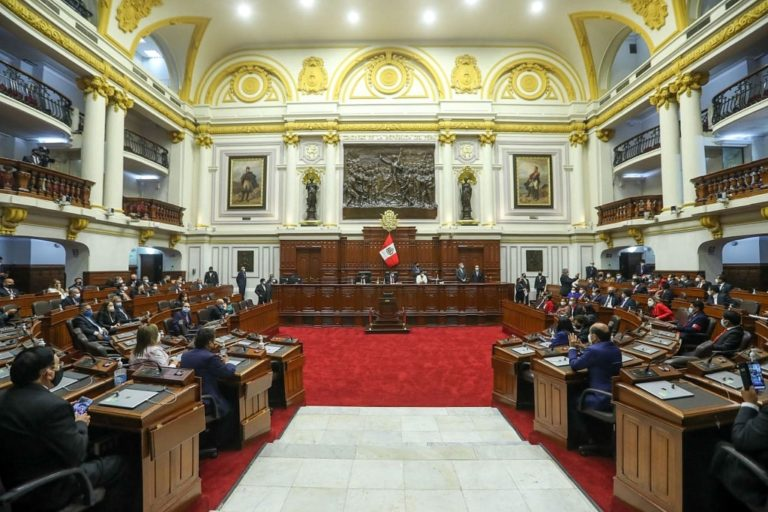 Juramentaron congresistas electos para el periodo 2021-2026