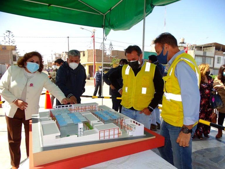 Construirán nueva infraestructura de la I.E. Miguel Grau de Matarani