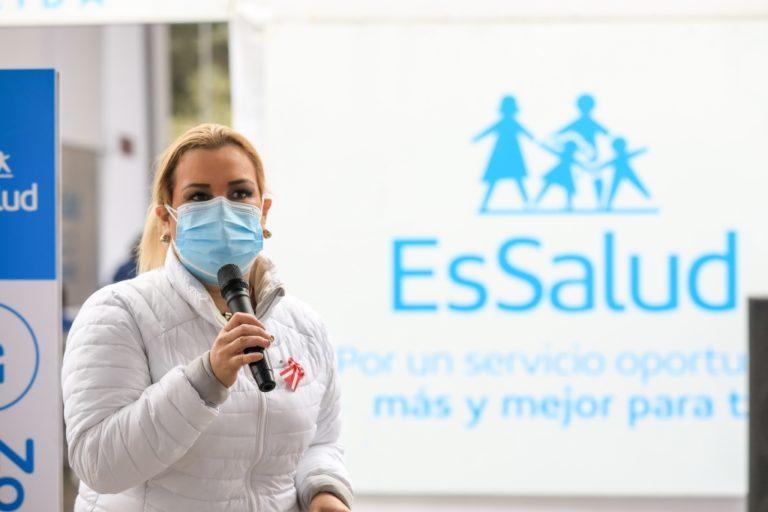Fiorella Molinelli renuncia a la presidencia de EsSalud por pedido del Gobierno