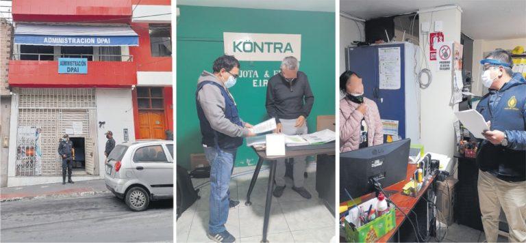 Ilo: Fiscalía realizó allanamiento en el Desembarcadero Pesquero Artesanal y domicilio del jefe de logística
